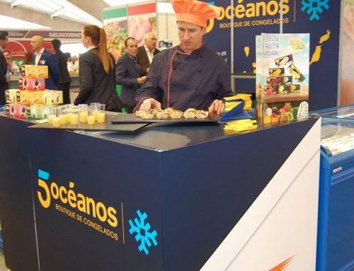 Ibero Express con sus marcas en el Stand de 5 Océanos en Gastro Canarias 2017